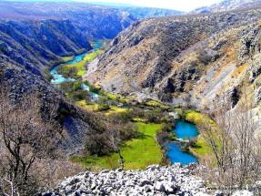 Pogled na kanjon Krupe