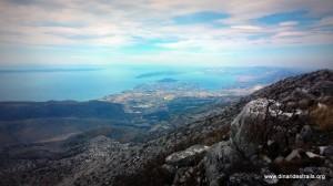 Vickov Stup - pogled na Split