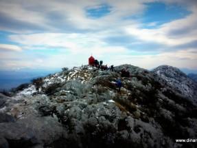 Uspon do planinarskog skloništa Vickov Stup