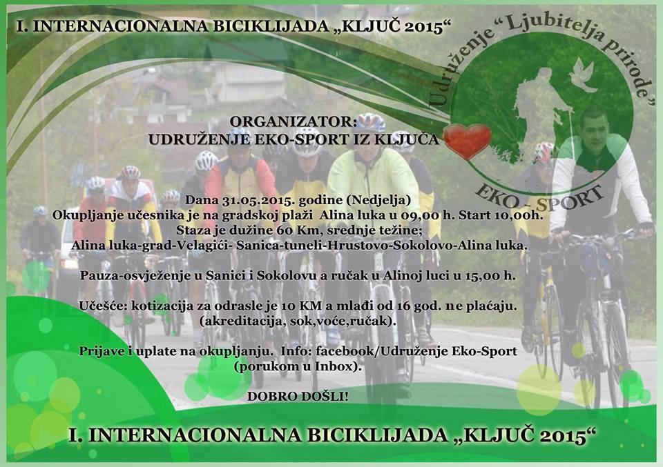 """1. Internacionalna biciklijada """"Ključ 2015."""""""
