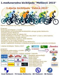 1. Međunarodna Biciklijada Metković 2015.